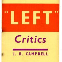 Book review: Two pamphlets from the Spanish Civil War